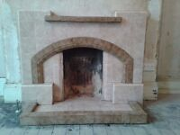 1940's Tiled Fireplace