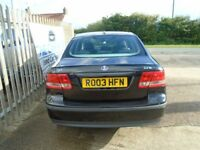 SAAB 9-3 2.2 TiD Arc 4dr (black) 2003