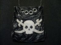 2 x ladies punk/pin-up/rockabilly bags for sale
