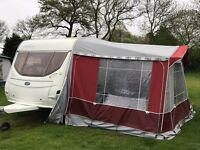 5-Berth Lightweight Caravan and awning for sale