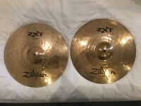 "Zildjian ZXT 14"" Rock Hi Hat Cymbals - RRP £129"