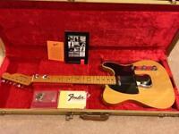 Fender Telecaster USA 52 Reissue Butterscotch 1997