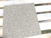 Beige grey double insulated carpet tiles