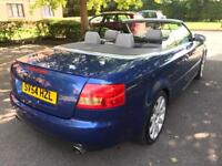 Audi A4 convertible 3.0 V6 **P/X WELCOME**