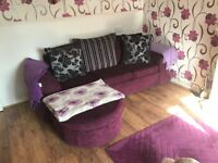Chaise Longue Sofa with matching chairs and accessories