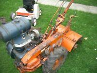 Howard rotavator ,Allen scythe .Gutbrod lawn areator