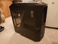 Zalman Z11 plus Gaming computer case + DVD player