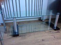 Glass TV / Media Stand