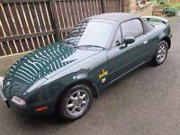 1997 Mazda MX5 Mk1 1.8 UK 130 bhp spec RWD Fantastic condition Not Eunos