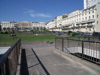 Bright 4th flr holiday apartment to sleep up to four just off the seafront close to all amenities