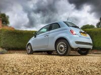 FIAT 500 - 1 CAREFUL FEMALE OWNER - LOW MILAGE - FULL SERVICE HISTORY - SUN ROOF - LEATHER INTERIOR