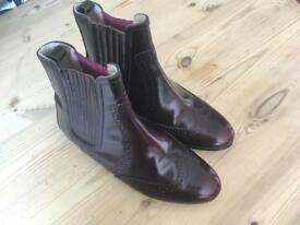 Boden brogue Chelsea boots