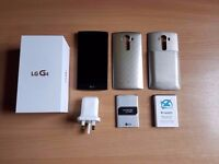LG G4 32gb - excellent condition - additional extended battery - boxed with charger
