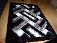 Brand New Large,cozy, fluffy Shiny Rug, Carpet, size 160x230