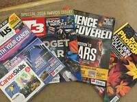 Photography, Tech and Science Magazines