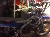 Derbi senda drd 50cc - 80cc bigbore kit racing exhaust full logbook 2 keys (needs stator)
