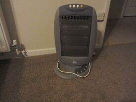 Munro electric fire. 400watt ideal for boat or. Caravan, has two setting in new condition.
