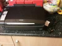 Epson Stylus SX200 printer and scanner.