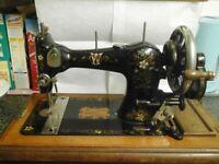 1925 cws federation sewing machine