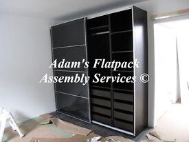 FLAT PACK/FLATPACK FURNITURE ASSEMBLY & DISMANTLE, IKEA PAX WARDROBE SPECIALIST, HANDYMAN/ASSEMBLER