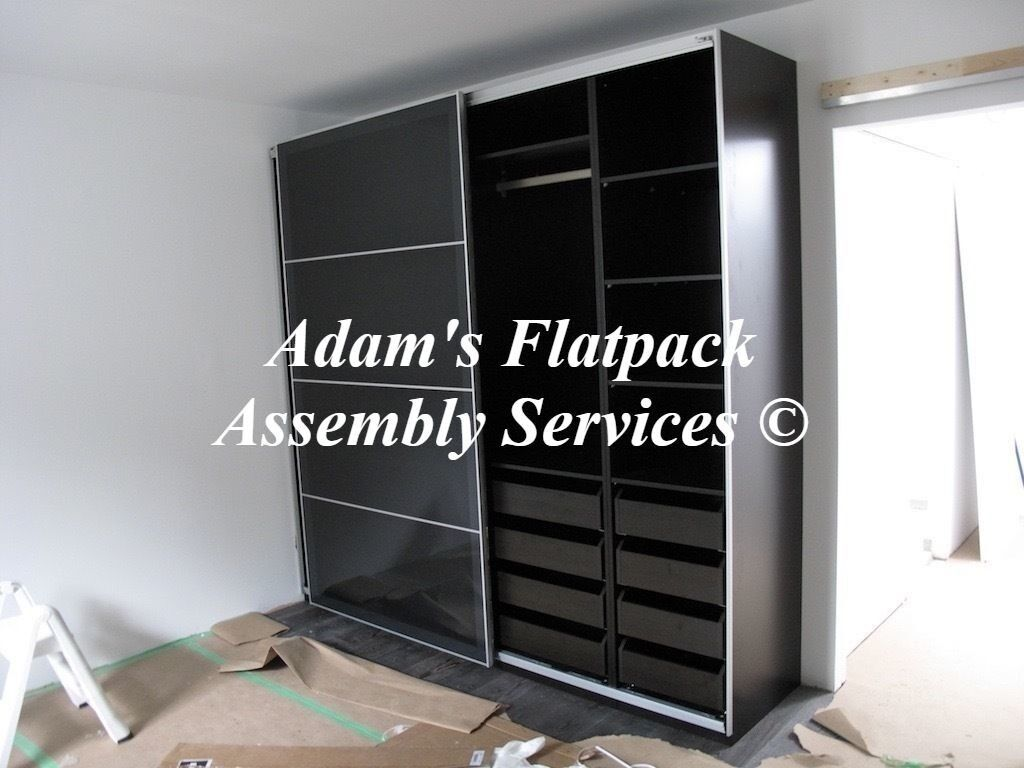 FLAT PACK FURNITURE ASSEMBLY & DISMANTLE, IKEA PAX WARDROBE SPECIALIST, FLATPACK HANDYMAN/ASSEMBLER