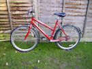 Ladies Raleigh with Lock, Lights and Mudguard
