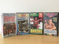 VHS Videos BOXING COLLECTION