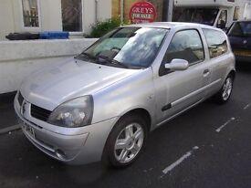 RENAULT CLIO 1.1 CAMPUS 2005 (55) 59000 MILES