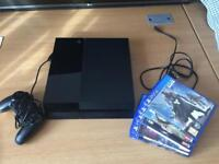 Sony PlayStation 4 500GB with 5 games