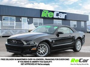 2014 Ford Mustang V6 Premium CONVERTIBLE | HEATED LEATHER