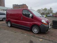 VALETING VAN - 55 PLATE RENAULT TRAFFIC VAN FULLY KITTED BRAND NEW EVERYTHING 6MNTHS SUPPLY CHEMS