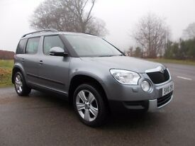 2010 10 SKODA YETI 2.0 TDI SE 5 DOOR 4X4 6 SPEED MANUAL