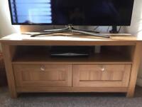 Next oak corner tv stand
