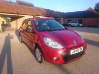 £2,495 Renault Clio Manual 1.2 - 3dr 2010 - MOT until June 2017 - CHEAP/MUST SELL SOON