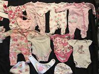 6lb baby girl clothes bundle