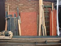 12x10 shed , workshop , dismantled thick 30 MM pine tongue groove wood collection from Leigh on sea