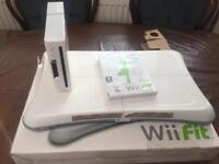 nintendo wii fit board and console only