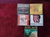 AUDIO BOOKS BY WILBUR SMITH