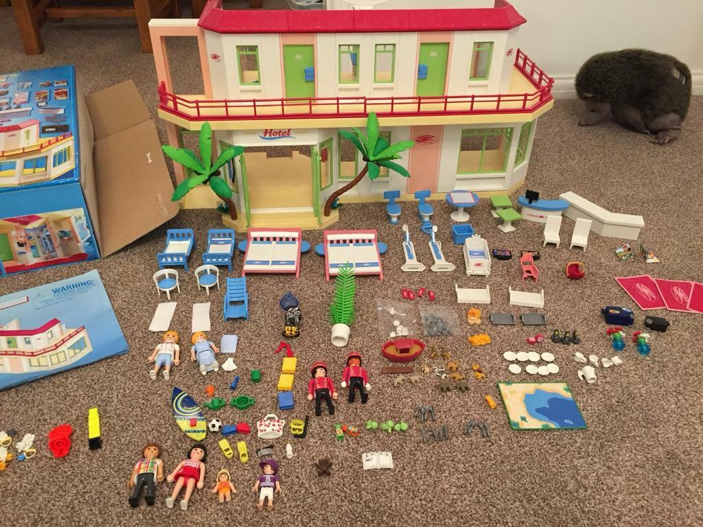 Playmobil Hotel Summer Fun Large Boxed Every Single Item