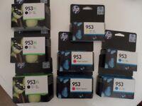 HP 953 INK CARTRIDGES