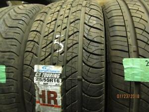 225/55R16 NEW SINGLE ONLY COOPER ALL SEASON TIRE