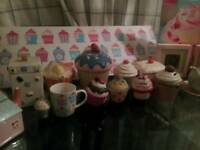 Cupcake collection ornaments etc