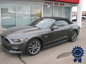 2016 Ford Mustang GT Premium Convertible w/Leather Seats