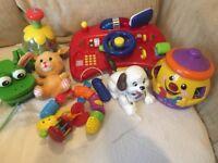 Bundle Of Baby Toys Vtech Fisher Price etc NW6/Gunnesbury