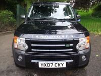 Land Rover Discovery 2.7 TDV6 SE 7 SEAT (blue) 2007 CALL 07957449886 7 SEATER LEATHER