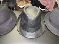 3 HATS USED 1 TIME / UK DESIGN