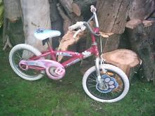 Girls Pink Bike 16 inch Ringwood Maroondah Area Preview