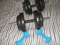 some weights for sale