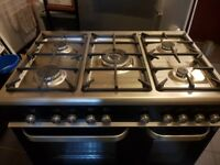 HOME/COMMERCIAL - BRAND NEW KENWOOD DUAL FUEL RANGE,LARGE FREEZER & FOOD WARMER