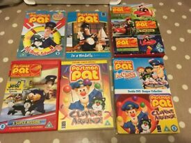 Collection of 15 Children's DVD's